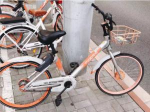 中国のシェア自転車mobike