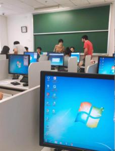 中国留学クラス分けテスト試験会場