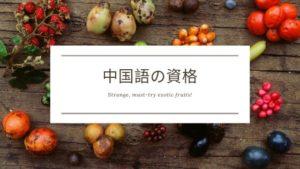 中国語の資格