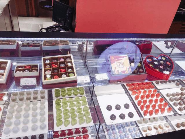 朱家角の綺麗なチョコレート