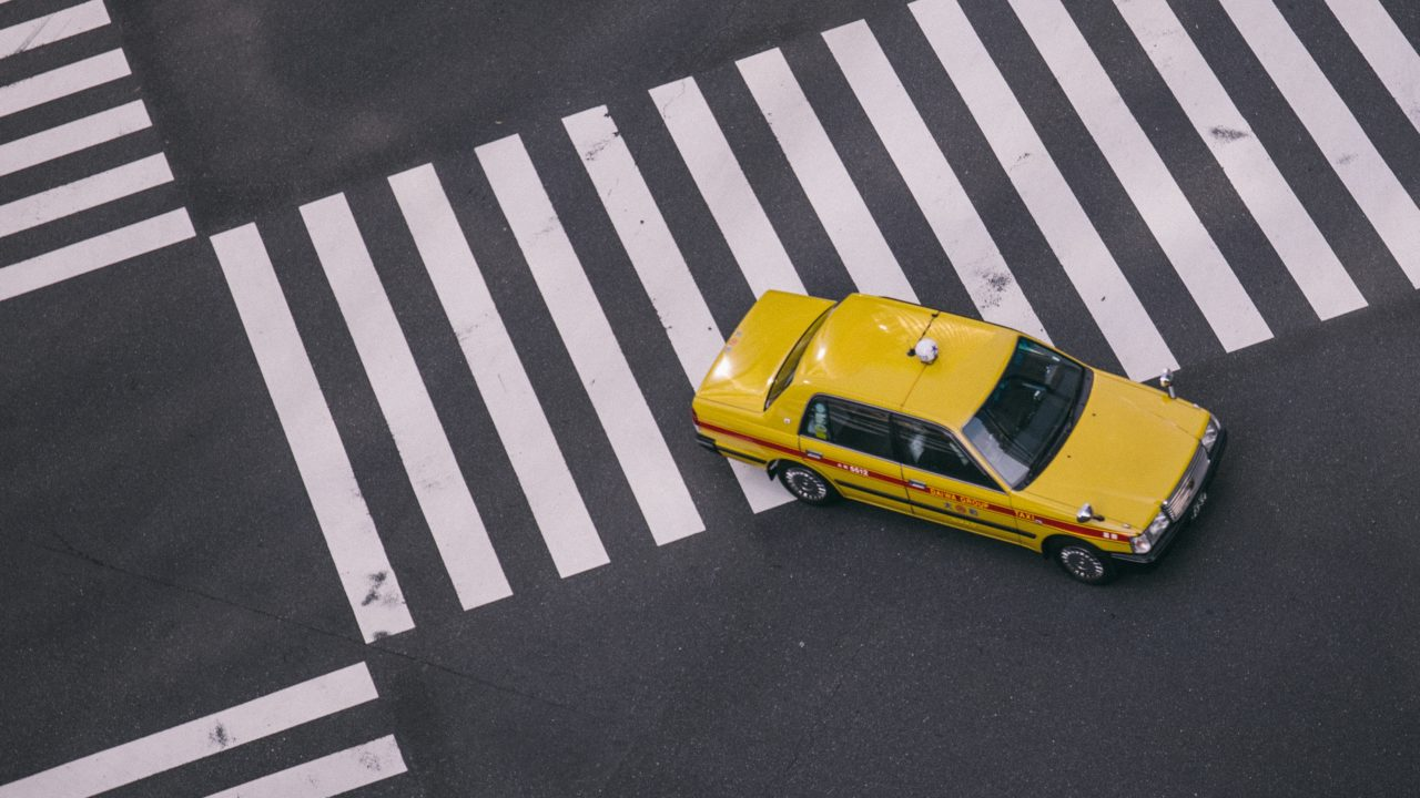 中国で見かけた優しいタクシー