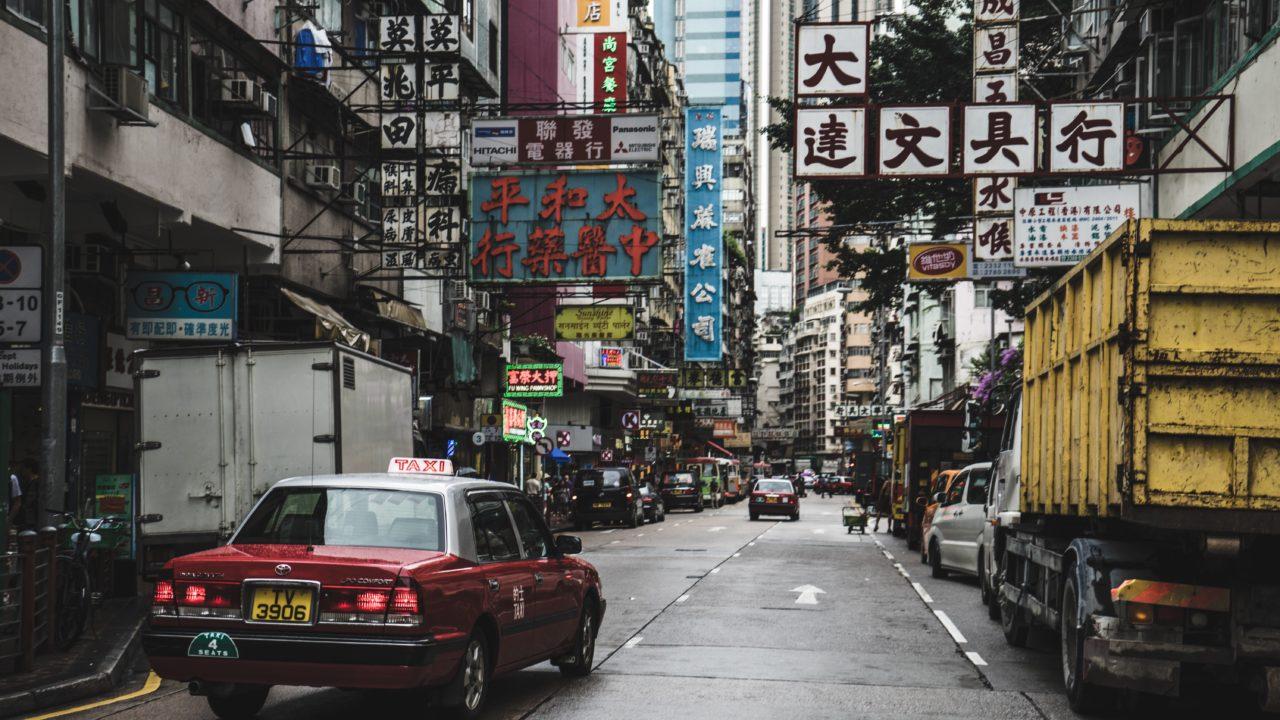 中国でタクシーを捕まえる方法