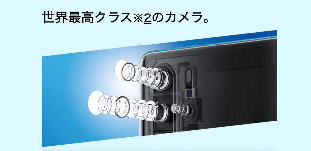 huaweip30proのカメラ
