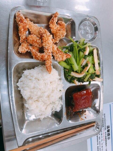 中国の学食