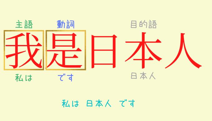 中国語の文法は簡単