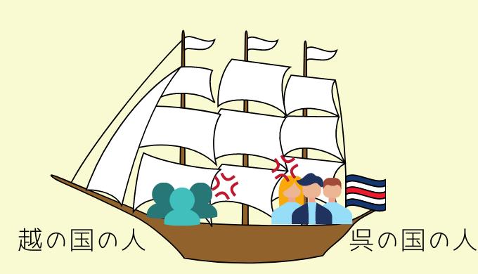 呉越同舟の由来
